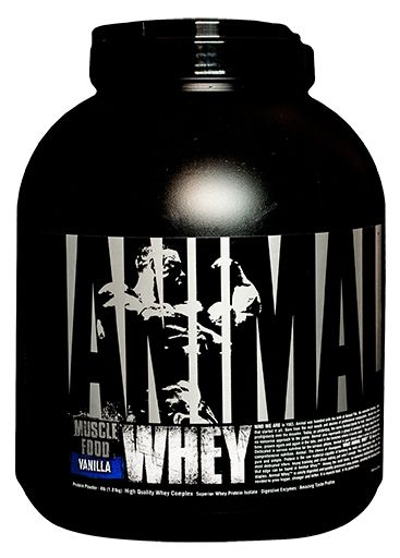 Animal Whey Protein, By Universal Nutrition, Vanilla, 4lb