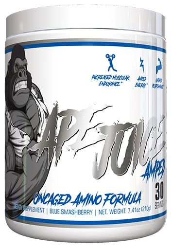 Ape Juice Amped by Untamed Labs, Blue Smash Berry, 30 Servings