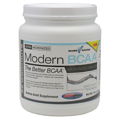 USP Labs Modern BCAA (micronized) White Blue Raspberry 428 Grams
