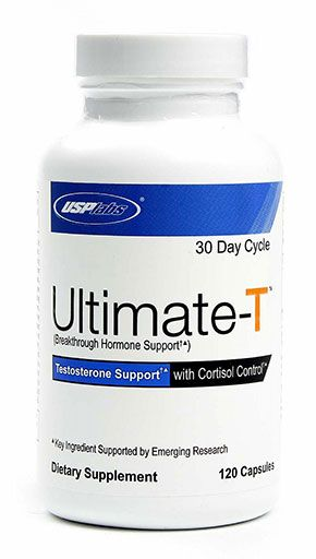 Ultimate T, By USP Labs, Testosterone Support, 120 Caps Image