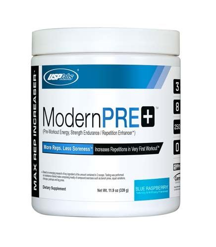 USP Labs Modern Pre Plus, Blue Raspberry, 30 Servings