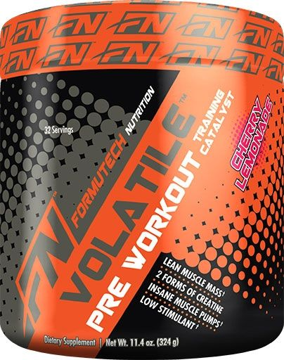 Volatile Pre Workout By Formutech Nutrition