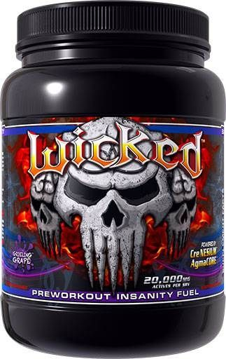 Wicked, Innovative Laboratories, Grueling Grape, 30 Servings