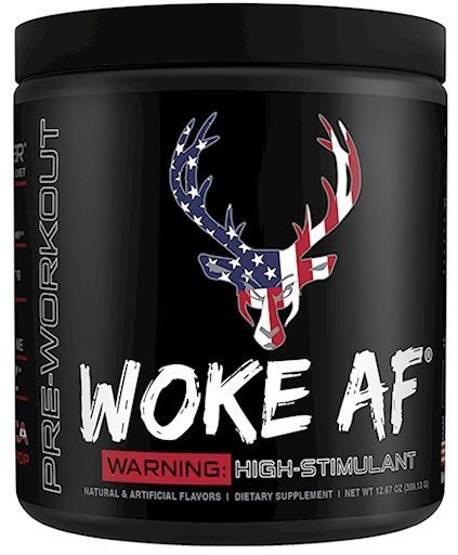 Woke AF Pre Workout - Rocket Pop - 30 Servings