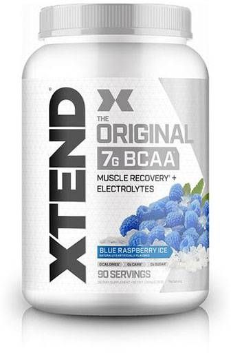Xtend BCAA By Scivation, Raspberry Blue, 90 Servings