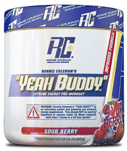 Yeah Buddy Pre Workout - Sour Berry - 30 Servings