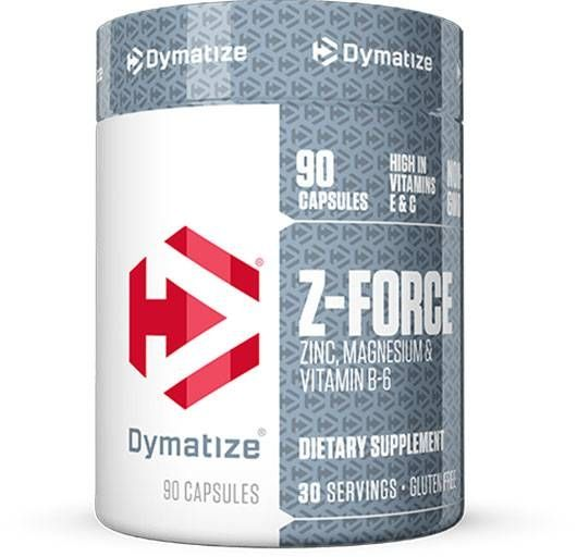 Z-Force, Dymatize Nutrition, 90 Caps