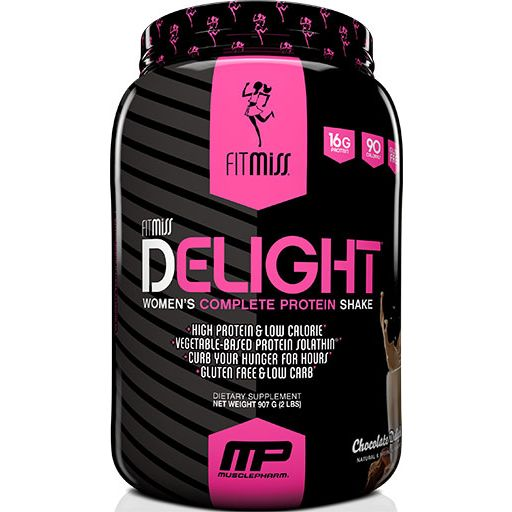 FitMiss Delight Protein, Chocolate Delight, 2lb