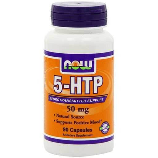 NOW Sports, 5-HTP, 50 mg, 90 Caps