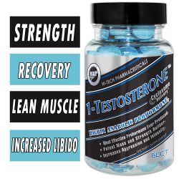 Hi-Tech Pharmaceuticals 1-Testosterone, 60 Tabs
