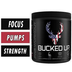 DAS Labs Bucked Up Pre Workout