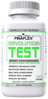 Revolution Test By FinaFlex, Super Test Booster, 60 Caps