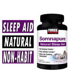 Somnapure by Force Factor - 60 Tablets