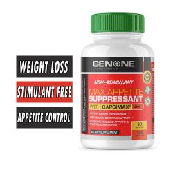 Max Appetite Suppressant By Genone Labs, 120 Caps