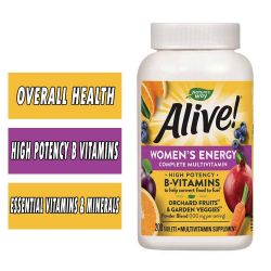 Nature's Way Alive! Women's MultiVitamin - 200 Tablets