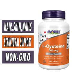 NOW L-Cysteine 500 mg - 100 Tabs