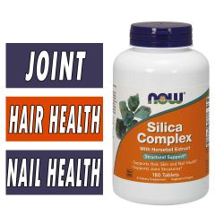 NOW Silica Complex - 180 Tablets