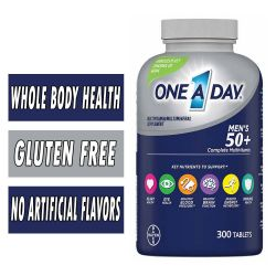 One A Day Men's 50+ MultiVitamin - 300 Tablets