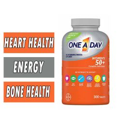 One A Day Women's 50+ MultiVitamin - 300 Tablets