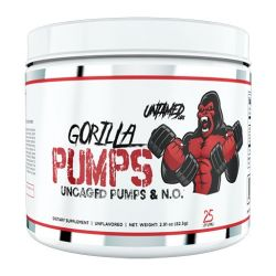 Gorilla Pumps by Untamed Labs, Unflavored, 25 Servings