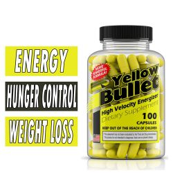 Yellow Bullet Fat Burner by Brand New Energy, 100 Caps