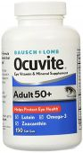 Ocuvite Adult 50 Plus By Bausch and Lomb, 150 Softgels