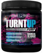 Turnt Up Pump By EPG, Pre Workout, Fruit Punch, 45 Servings
