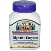21st Century Digestive Enzymes 60 Caps