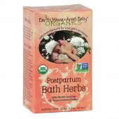 Postpartum Bath Herbs By Earth Mama, 6 Herbal Pads