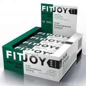 FitJoy Bar By FitJoy Nutrition, Iced Ginger Bread, 12/Box