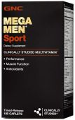 Mega Men Sport By GNC, 180 Caplets