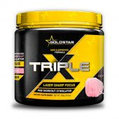 Triple X, Pre-Workout, By GoldStar Performance Products, Blue Raspberry, 30 Servings