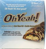 Oh Yeah! Bars, By Oh Yeah! Nutrition, Cookie Caramel Crunch, 12/Box - 85 Grams