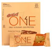 Oh Yeah! ONE Bars, By Oh Yeah! Nutrition, Peanut Butter Pie, 12/Box