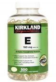 Kirkland Vitamin E, 180 mg, 500 Softgels