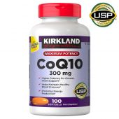 Kirkland CoQ10, 300 mg, 100 Softgels