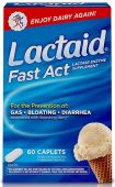Lactaid Fast Act, 60 Caplets