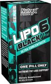 Lipo-6 Black Hers By Nutrex, 60 Caps