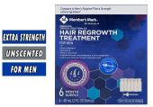 Member's Mark Minoxidil - 6 Month Supply