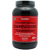 MuscleMeds Carnivor, 2lb Fruit Punch Beef Protein