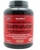 Carnivor Beef Protein By Muscle Meds, Peanut Butter 4.4lb Image