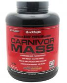 Carnivor Mass By Muscle Meds, Chocolate Peanut Butter 6lb Image