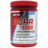 MET-Rx BCAA Powder Unflavored 300 Grams