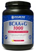 BCAA + G, By MRM, Lemonade, 1000 Grams Image