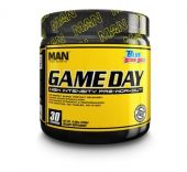 Game Day Pre Workout, By Man Sports, Blue Bombsicle, 30 Servings
