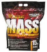 Mutant Mass, Cookies and Cream, 15lb -Front of Bag