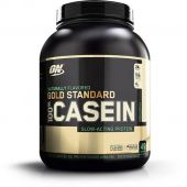 Natural Gold Standard Casein, Optimum Nutrition, French Vanilla, 4lb