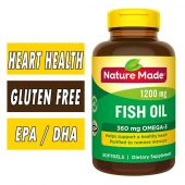 Nature Made Fish Oil - 1200 mg - 200 Softgels
