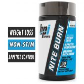 Nite Burn By BPI Sports, 30 Capsules