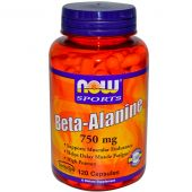 NOW Beta-Alanine 750 mg - 120 Capsules